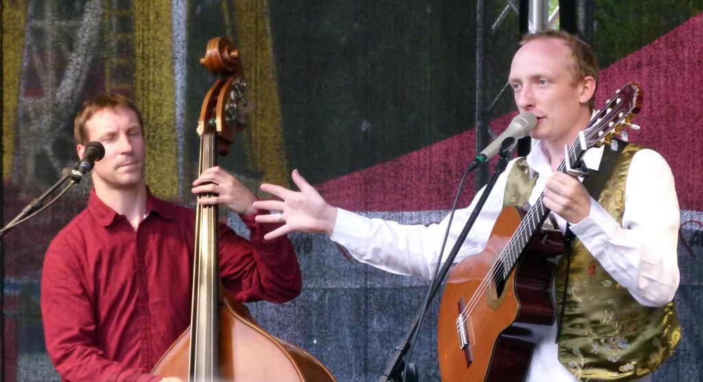 Toni Geiling und Kaspar Domke live