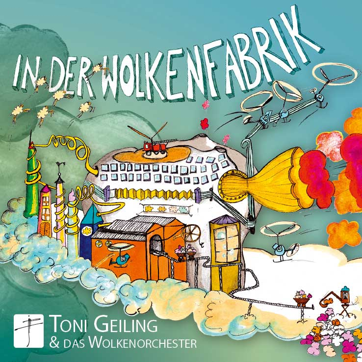 In der Wolkenfabrik - CD-Cover