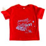 T-Shirt-poppyred